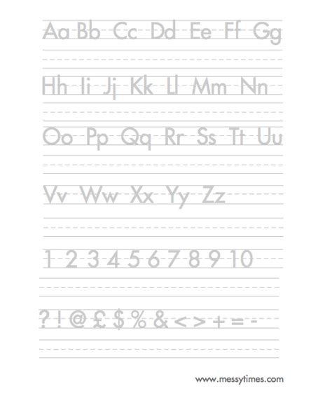 Alphabet Practice Worksheets Printable  Printable 360 Degree