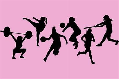 Clipart Womens Sports Softball Play Senior Today