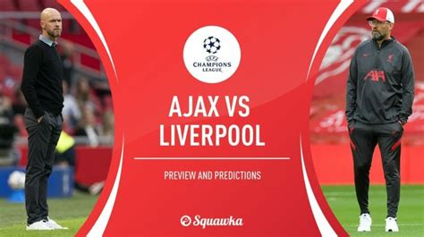 Ajax v Liverpool live stream: Watch the Champions League ...