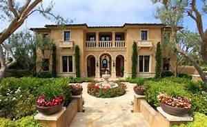 Italian style house plans - Mediterranean refinement