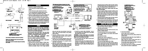 bench test instructions mounting wiring reese