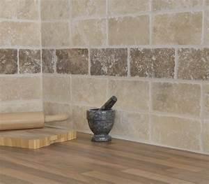 White tumbled travertine 200mm x 100mm roomset tiles for Marble bathroom tiles uk