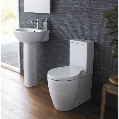 toilet and sink in one milano bathroom toilet wc and basin sink set with soft
