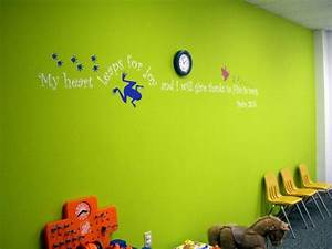 Bible verses for decorating at church google search for Biblical wall decals ideas