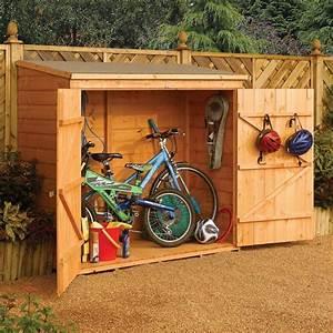 brath: Garden shed bicycle storage