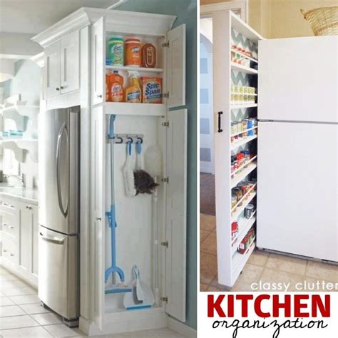 Clever Storage Ideas For Small Kitchens by 27 Genius Small Space Organization Ideas Tiny House