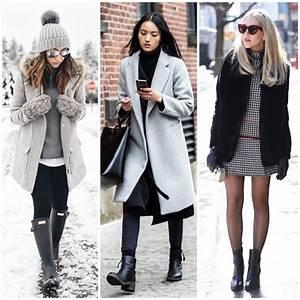 Herbst Trend 2018 : 1001 ideen f r ein schickes winter styling winter outfit damen 2018 ~ Watch28wear.com Haus und Dekorationen