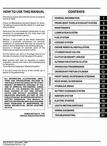 Xl1000 Varadero Service Manual