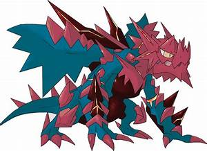 Mega Druddigon Pokédex: stats, moves, evolution, locations ...