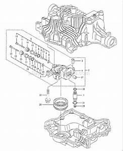 Husqvarna Tuff Torq K61 Transaxle Parts List And Diagram