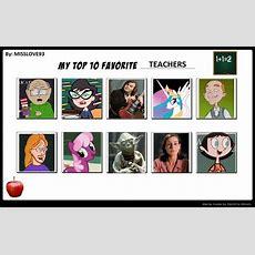 My Top 10 Favorite Teachers By Sithvampiremaster27 On Deviantart