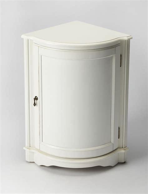 rounded corner kitchen cabinet durham traditional quarter corner cabinet white 4907