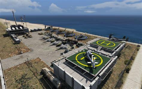 Army Base In Los Santos International Gta5modscom