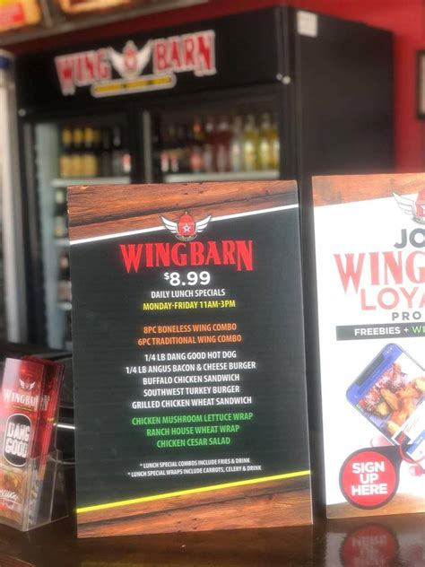 Wing Barn Brownsville Tx by Wing Barn Home Brownsville Menu Prices