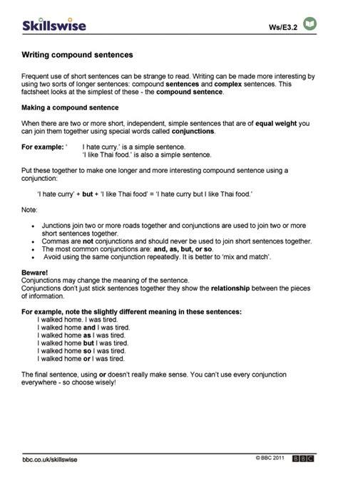 Printable Worksheets » Writing Better Sentences Worksheets  Printable Worksheets Guide For