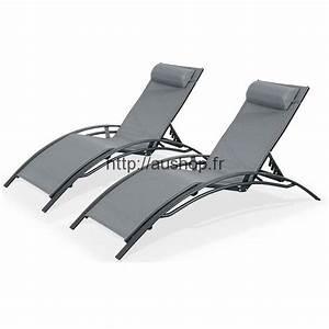 chaise longue jardin pas cher transat bain de soleil prix With mobilier de piscine design 10 salon de jardin hesperide en resine metal ou bois pas cher
