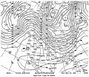 Upper Air Analysis Charts