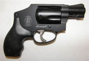 Smith and Wesson 5 Shot Revolver 38