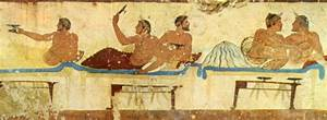 Trinkgelage der Antike