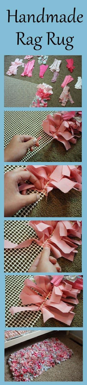 diy rag rug everyday diy handmade rag rug tutorial