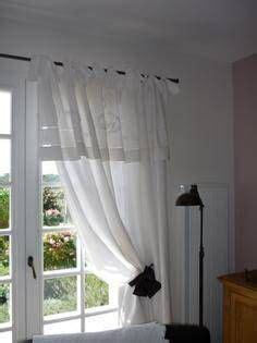 rideau en drap ancien linge de maison photo 1 rideaux photos et d 233 co