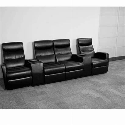Theater Leather Seat Reclining Seating Recliner Storage