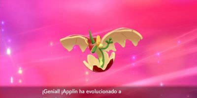 pokemon sword  shield   evolve applin