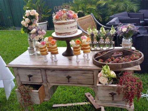 rustic kitchen tea bridal shower bridal shower ideas