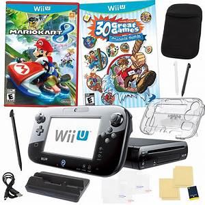 Mario Kart Wii U : nintendo wii u mario kart 8 deluxe set with family party 15 in 1 kit ~ Maxctalentgroup.com Avis de Voitures