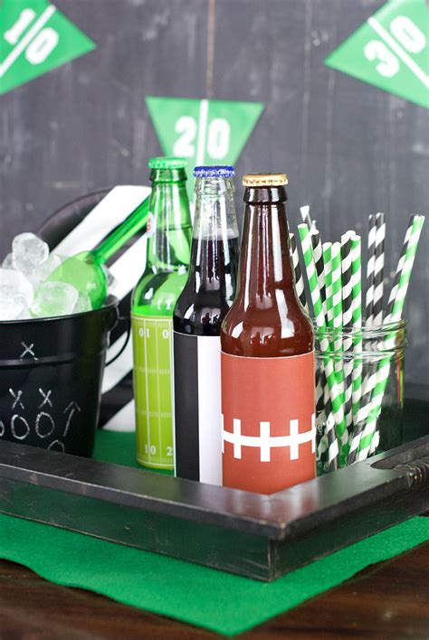 Football Decorations - 25 football themed ideas squared