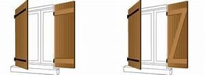 Barre De Volet : volet imitation bois pose de volets battants composite ~ Melissatoandfro.com Idées de Décoration