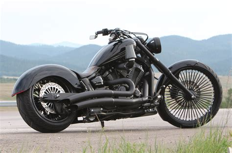 Suzuki Stryker by Custom Back In Black Stryker Low And