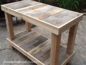 kitchen work tables islands pallet project kitchen island work table joanne inspired
