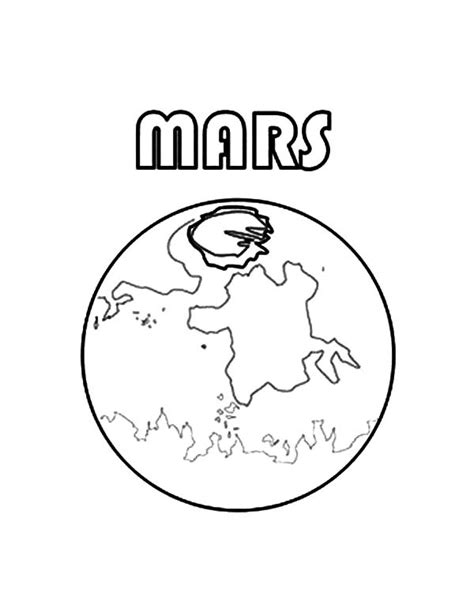 mars coloring pages planet mars coloring pages for color
