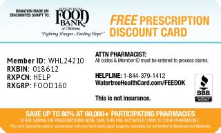 Insurance is a practice or arrangement by which a company provides a guarantee of compensation for specified loss, damage Watertree Health Card   Regional Food Bank of Oklahoma Video
