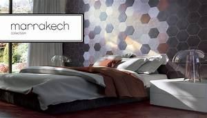 Carrelage Hexagonal Blanc : carrelage mural octogonal et sol carrelage salle de bain ~ Premium-room.com Idées de Décoration