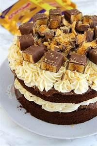 Honeycomb Crunchie Cake - Jane's Patisserie  Cake
