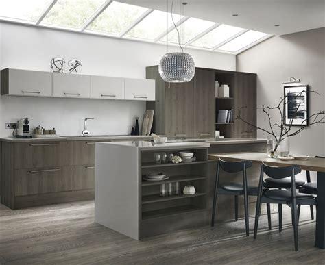 greenwich dark grey oak kitchen universal kitchen