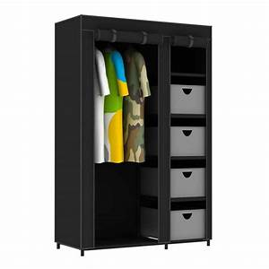 Armoire Penderie 5 Tiroirs Nomad 462913 Achat