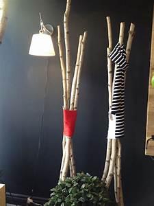 Branche De Bois Deco : 3 id es d co en bois color pour le chalet d conome ~ Teatrodelosmanantiales.com Idées de Décoration