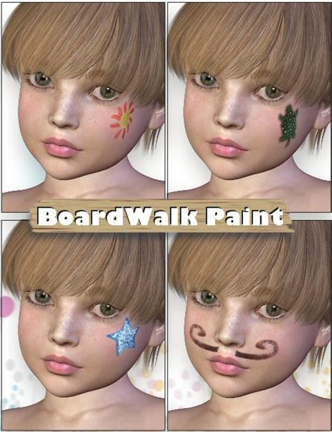 k4 and pansy children for daz studio and poser