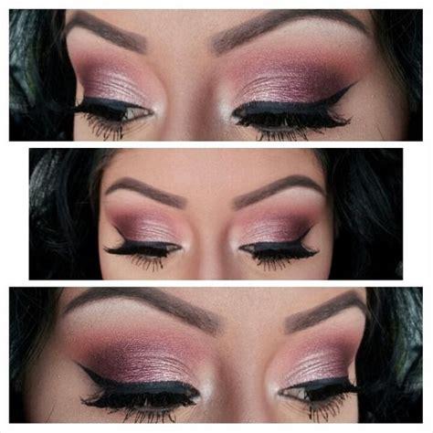 burgundy smokey eye pretty eye makeup burgundy