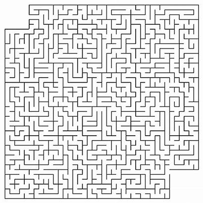 Hard Mazes Printable Puzzle Coloring Pages Maze