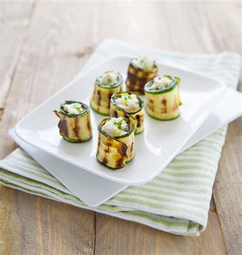 roules aux courgettes grillees les meilleures recettes