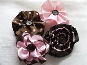 Ribbon Fabric Flower Tutorial