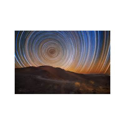 Star trails at Giant Magellan Telescope siteToday's