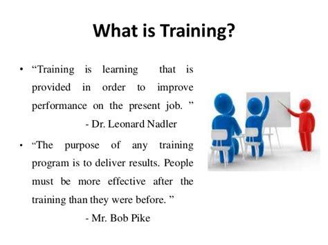 Training and Development - Manu Melwin Joy