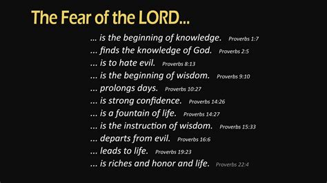 What Is Lor by Fear Of The Lord