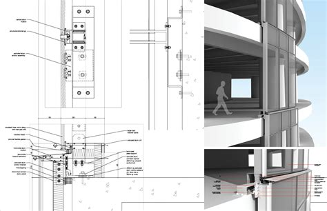 curtain wall detail 圖片 detail drawing