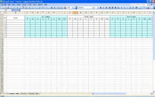 Create Excel Templates Create Your Own Soccer League Fixtures And Table Excel Templates